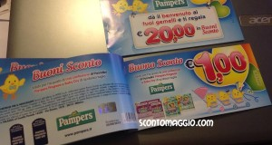 buoni sconto pampers