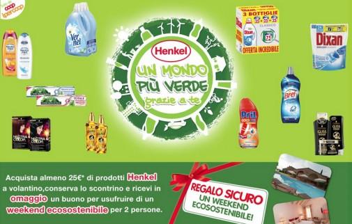 Henkel mondo più verde grazie a te