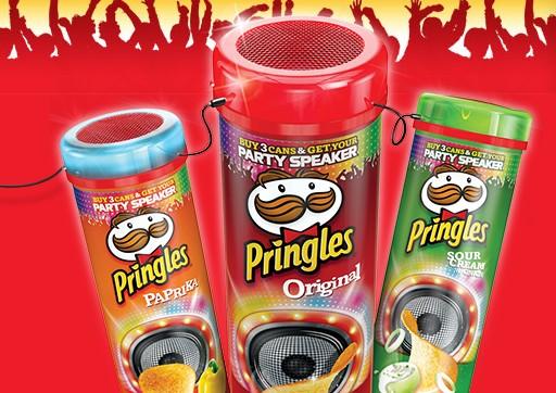 Party Speaker Pringles