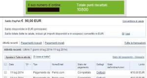 sondaggi mysurvey: pagamento paypal