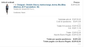 acquisto amazon desigual