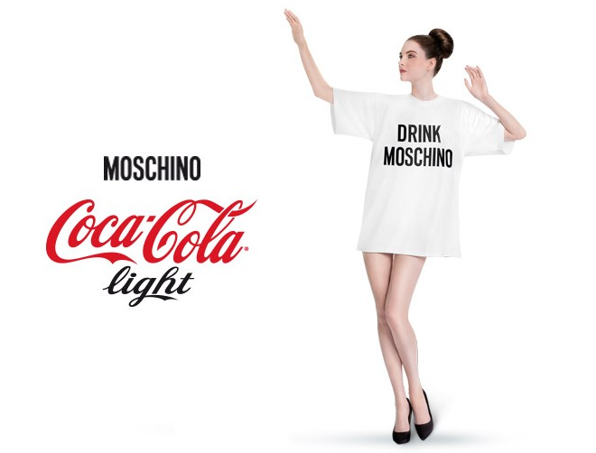 t shirt moschino coca cola