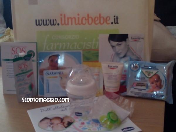 baby bag omaggio