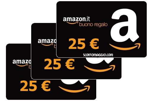 buoni amazon 25 euro