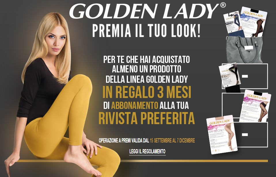 golden lady riviste