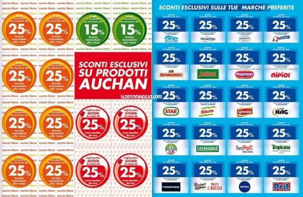 buoni sconto Auchan