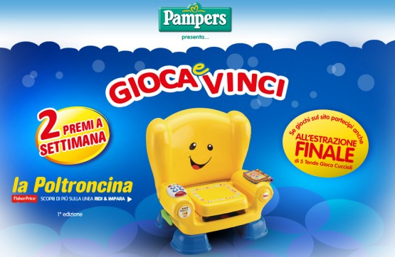 poltroncina fisher price