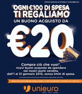 unieuro 20 euro