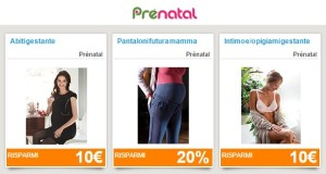 buoni sconto prenatal