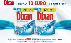 dixan 10 euro buoni spesa