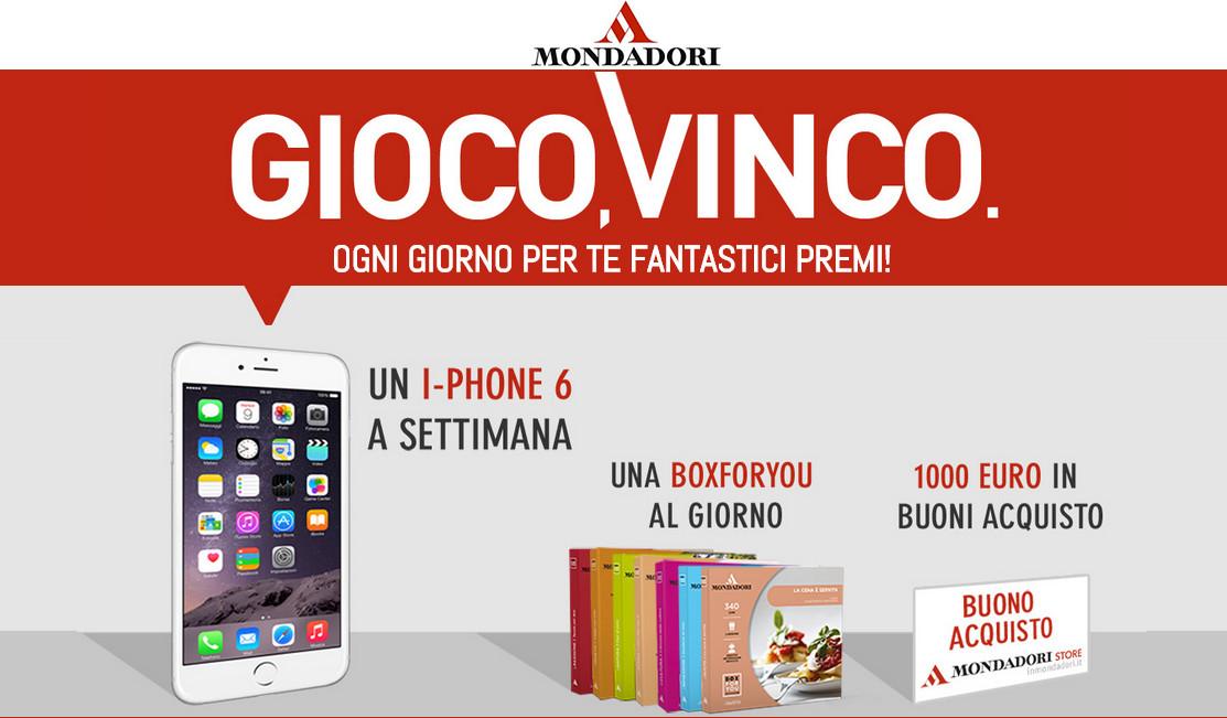 concorsi iphone gratis
