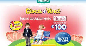 gioca e vinci brums pampers