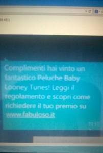 baby looney tunes sms vincita