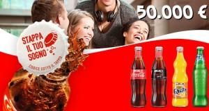 coca cola stappa il tuo sogno