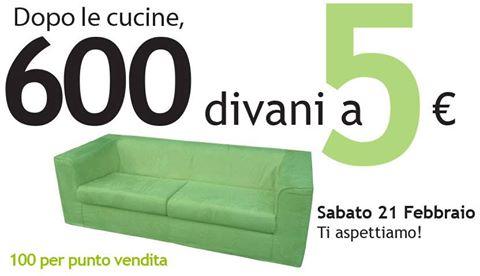 Divani A 5 Euro Da Ricci Casa Scontomaggio