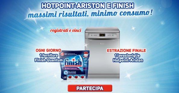 Registrati e vinci con Finish e Hotpoint-Ariston