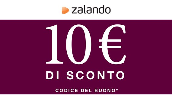 buono sconto zalando da 10 euro scontomaggio. Black Bedroom Furniture Sets. Home Design Ideas
