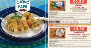 ricettario e coupon galbani