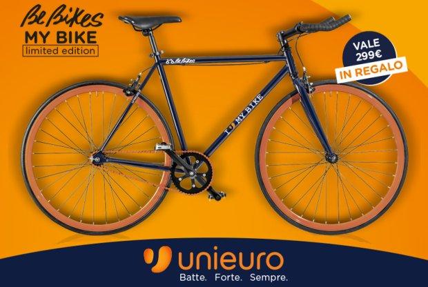 Offerta Unieuro Bicicletta Omaggio
