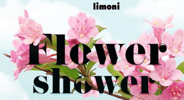 limoni flower shower