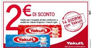 buono sconto yakult