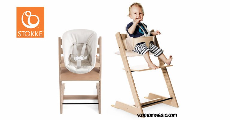 vinci seggiolone stokke tripp trapp scontomaggio. Black Bedroom Furniture Sets. Home Design Ideas