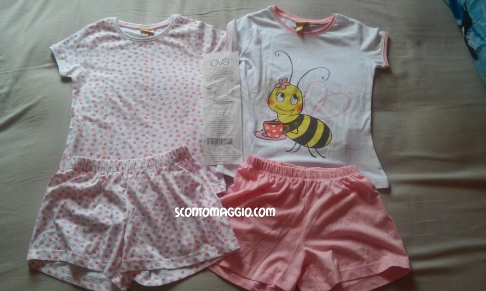 rivenditore di vendita 83389 cb418 pigiami bambina ovs - scontOmaggio