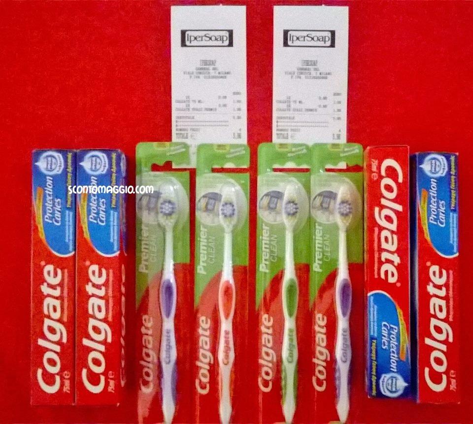 colgate dentifrici e spazzolini