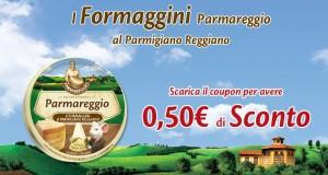 coupon parmareggio formaggini