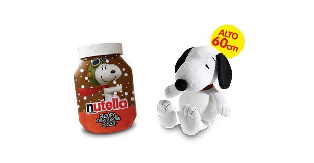 nutella snoopy