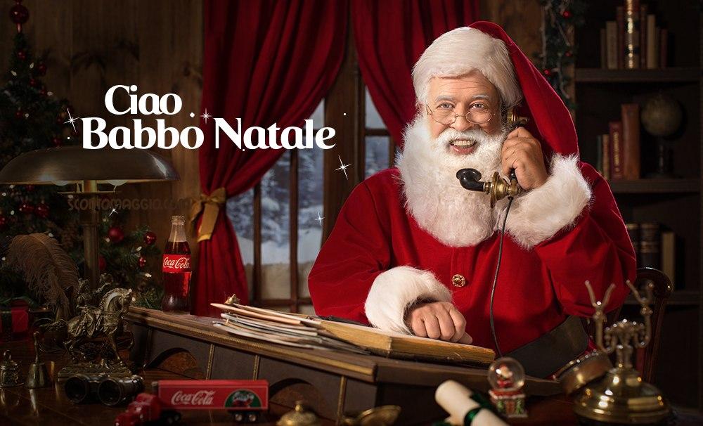 Coca Cola Babbo Natale.Sorpresa Coca Cola Ciao Babbo Natale Scontomaggio