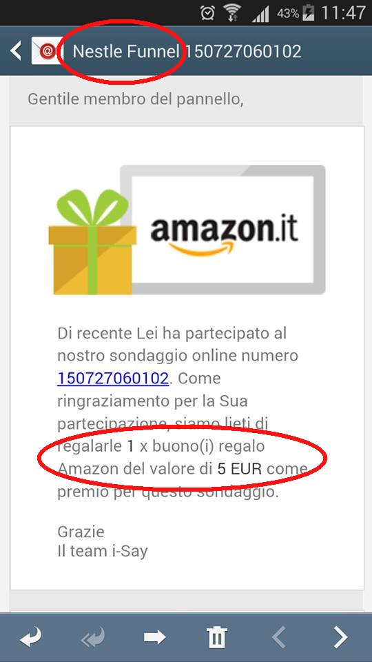 Buoni regalo amazon 10 euro for Codici regalo amazon
