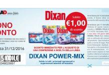 buono sconto dixan power mix