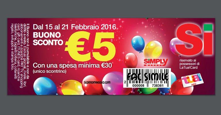 80a76672941b Stampa il buono spesa Simply da 5 euro - scontOmaggio