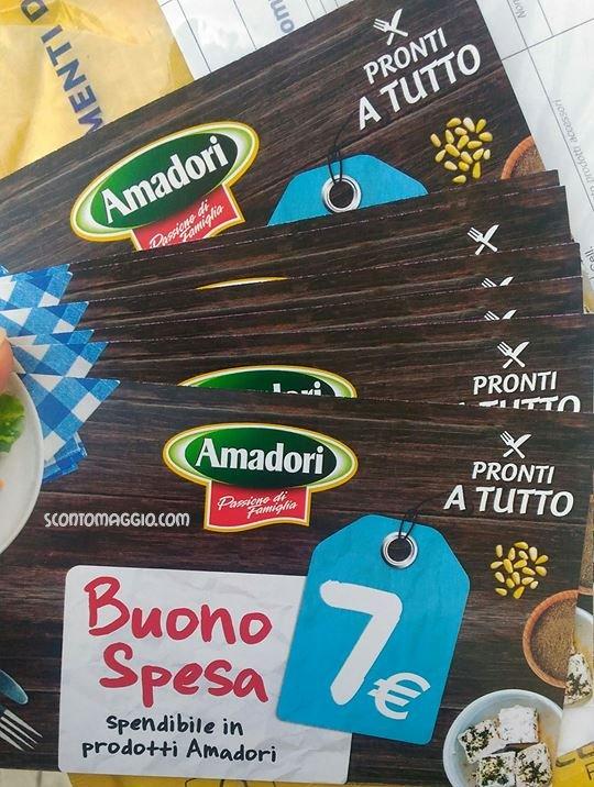 Amadori buoni sconto 2017 for Esselunga catalogo 2017