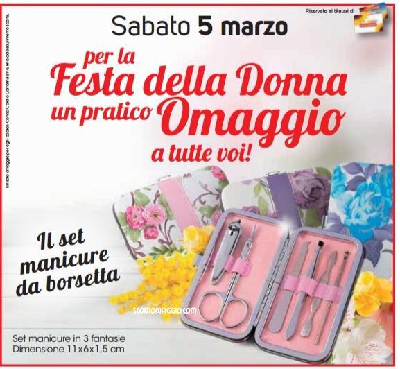Festa della Donna Conad: set manicure da borsetta o ...