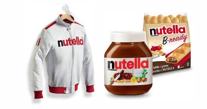 Vinci 100 felpe Nutella ogni giorno - scontOmaggio