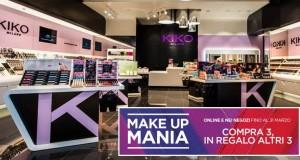 kiko makeup mania