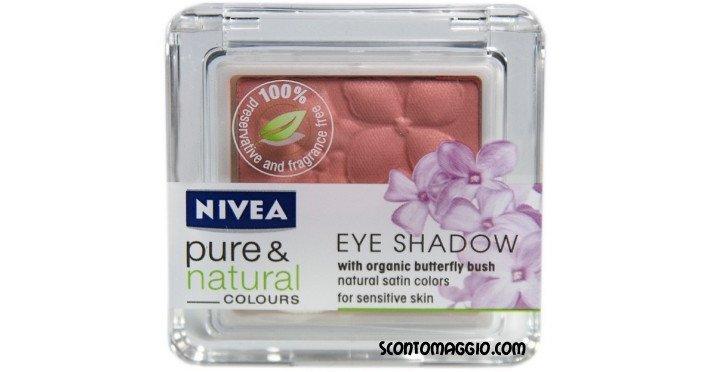 nivea pure natural eye shadow