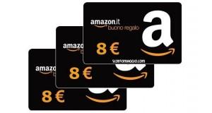 buoni Amazon 8 euro