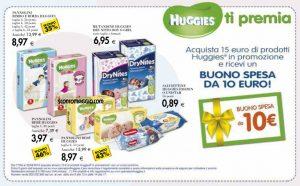 huggies ti premia 10 euro