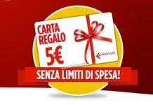 carta lafeltrinelli 5 euro