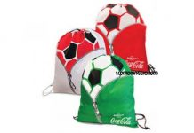 sacca sportiva Coca-Cola