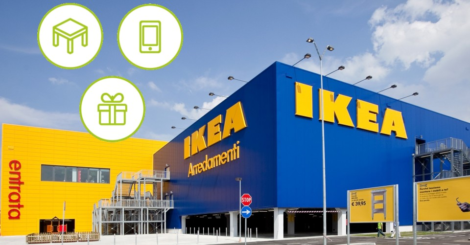 ikea a casa naturalmente vinci buoni spesa da 100 a 1000 euro scontomaggio. Black Bedroom Furniture Sets. Home Design Ideas