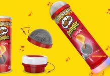 pringles karaoke kit