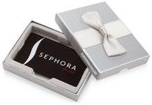 gift card sephora
