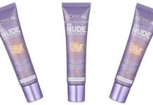 l'oreal nude magic blur