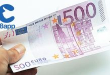 500 euro 18app