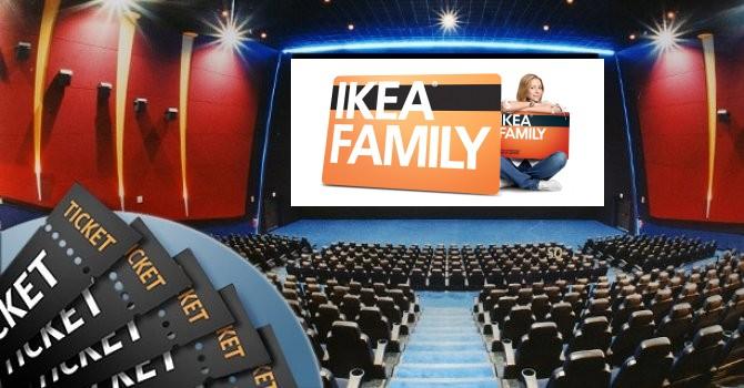Ikea Family Sconto Sui Biglietti Uci Cinemas E The Space Scontomaggio