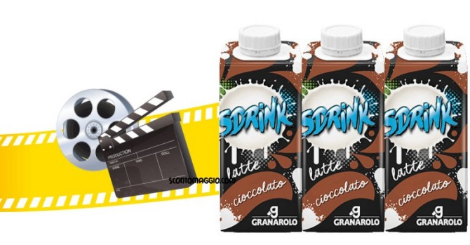 Granarolo sdrink ti porta al cinema scontomaggio - Tre ti porta al cinema ...